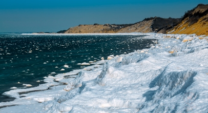 Great Island Wellfleet Cape Cod Winter