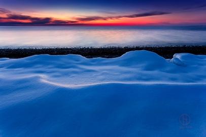 Cape Cod Winter Sunset